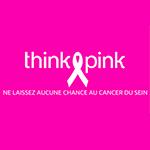 Nous sommes avec Think Pink à Bruxelles aujourd'hui !