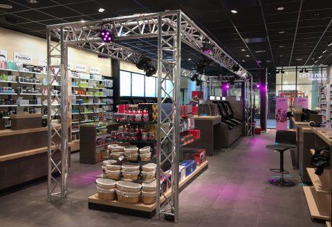 Notre service de Merchandising avec DJ au Docks Shopping à Bruxelles !