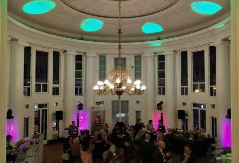 Très belle soirée d'entreprise pour la fête de son personnel à Bruxelles, au Bozar !