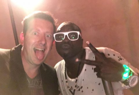 Superbe soirée d'anniversaire à Knokke avec la collaboration de DJ Crazy Sir-G et le terrible groupe Domino, une ambiance de dingue !