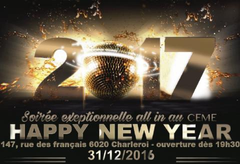 Venez fêter le Nouvel An 2017 au CEME !