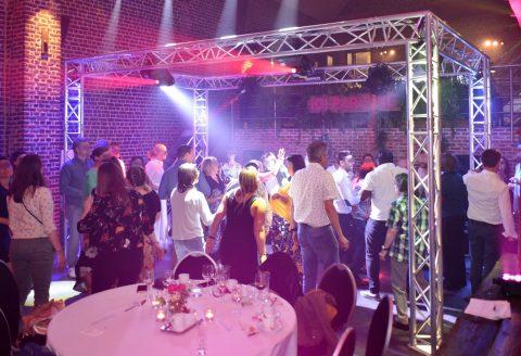 Très belle fête d'entreprise aux Salons The Romree à Grimbergen