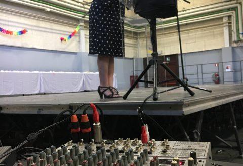 Sonorisation de discours à la remise du CEB des élèves de Saint-Ghislain