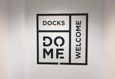Fin prêt pour ce soir au Dôme du Docks Bruxsel pour Sodexo !