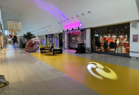 Nous assurons l'ouverture du magasin ICI PARIS XL au Shopping CORA de La Louvière !